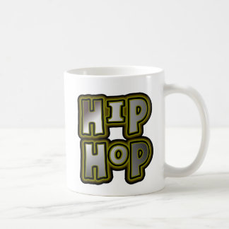 Big Hip Hop Graffiti Multi-Color, Metal Effects Coffee Mug