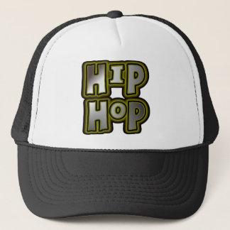 Big Hip Hop Graffiti Multi-Color, Metal Effects Trucker Hat