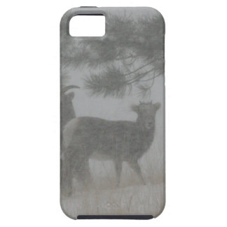 Big Horn Kid in the Snowstorm Case For The iPhone 5