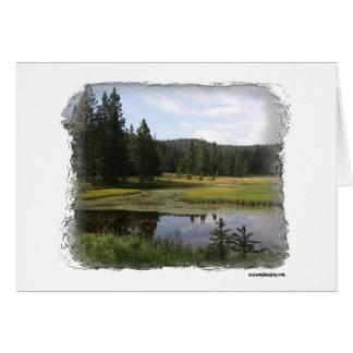Big horn Mountains Card
