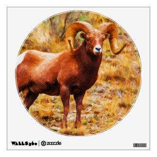 Big Horn Ram Wall Sticker