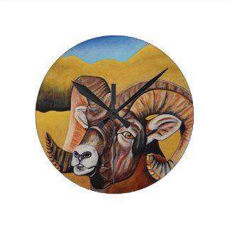 Big Horn Sheep Clock