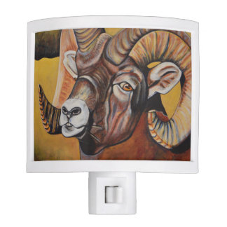 Big Horn Sheep Nightlight Nite Lights