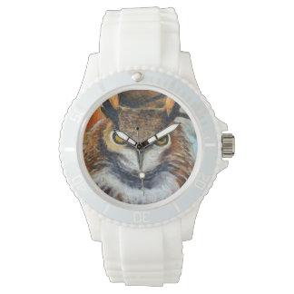 Big Horned Grumpy Owl Watch