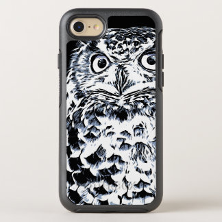 Big Horned Owl Art OtterBox Symmetry iPhone 8/7 Case