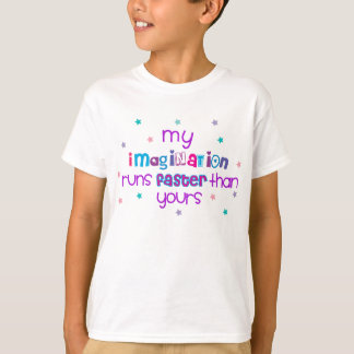 Big imagination kids shirt