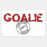 Big Insane Goalie Sticker