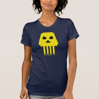 BIG INVADER SKULL! FOR GIRLS! T-Shirt