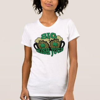 Big Irish Jugs Funny St. Patrick's Day T-Shirt