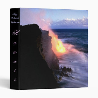 Big Island Hawaii Volcano Binder