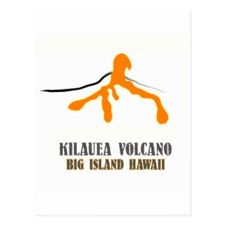 Big Island Lava Junkie Vertical Post Card