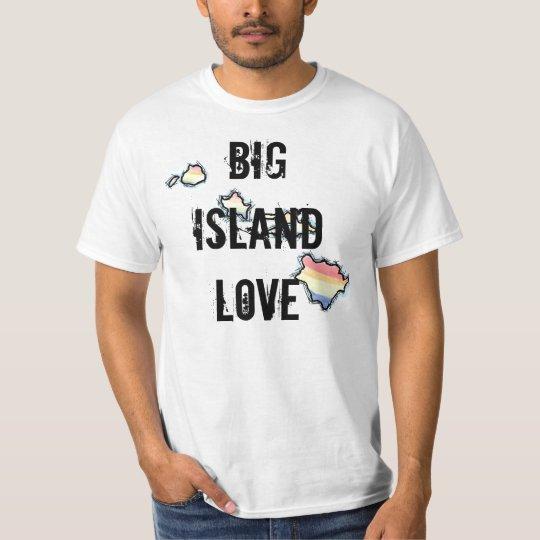 Big Island Love Hawaii tee