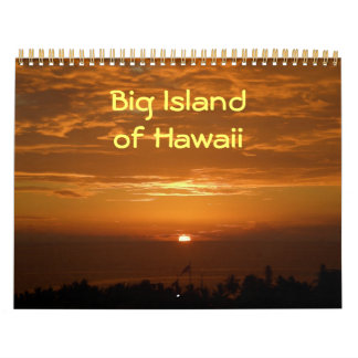 Big Island Of Hawaii Calendar