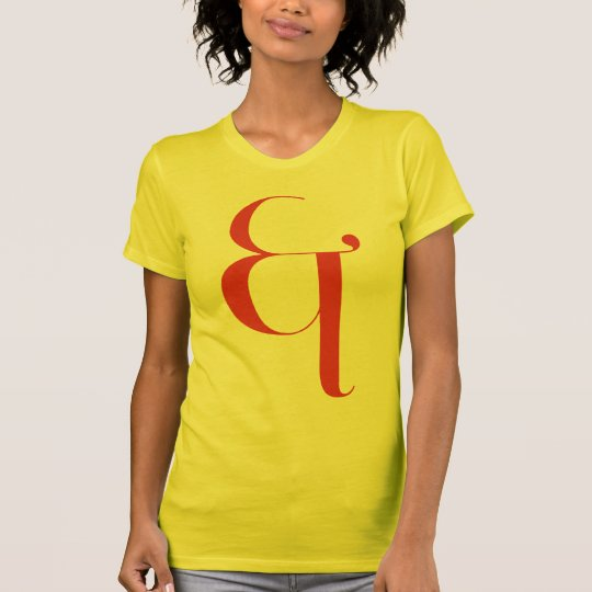 Big &: Jeanne Moderno Lettres T-Shirt