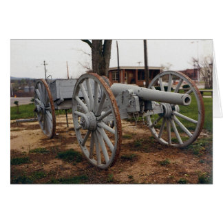 Big John Civil War Cannon Card
