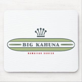 Big Kahuna Straight HI Surfer Mouse Pad