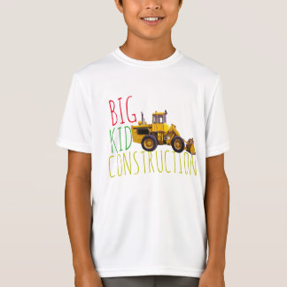 Big Kid Construction T-Shirt