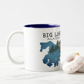 Big Lake Alaska Cabin Mug