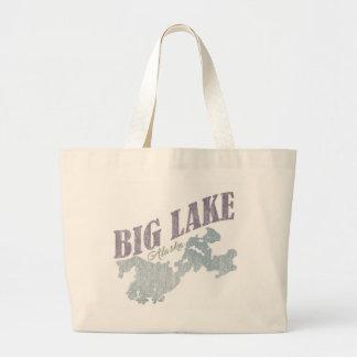 Big Lake Alaska - Large Tote