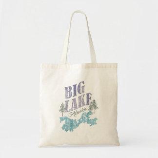 Big Lake Alaska Tote Bag