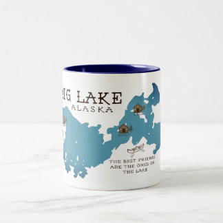 Big Lake Cabin Mug for our Friends
