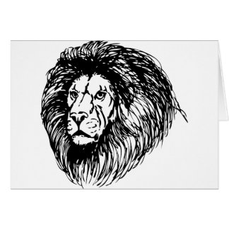 Big Lion Card