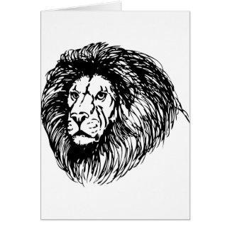 Big Lion Card