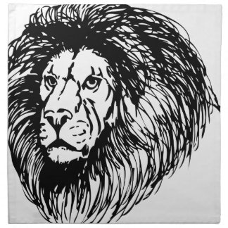 Big Lion Napkin
