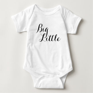 Big Little Baby Big Brother Big Sister Shirt