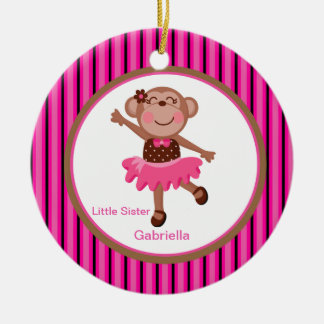 Big/ Little Sister Monkery Ornament