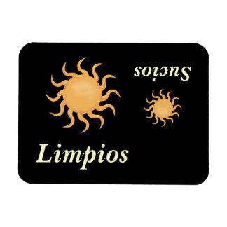 Big & Little Sun Cute Spanish Dishwasher Magnet