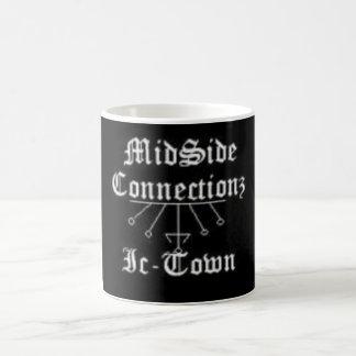 big logo cup basic white mug