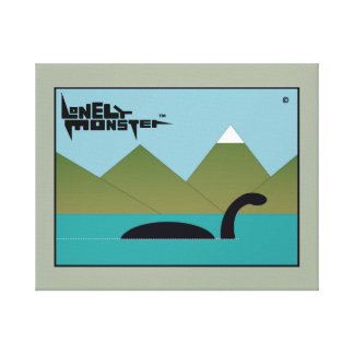 Big Lonely Monster on a Mission Canvas Print