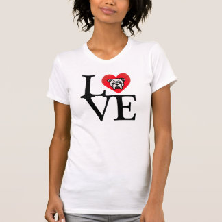 Big LOVE Bulldogs T-Shirt