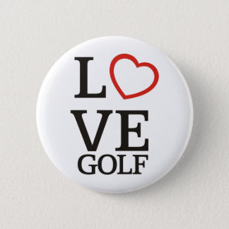 Big LOVE Golf 2 Inch Round Button