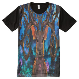 BIG MAGIC DEER AKA groot magie hert All-Over-Print T-Shirt