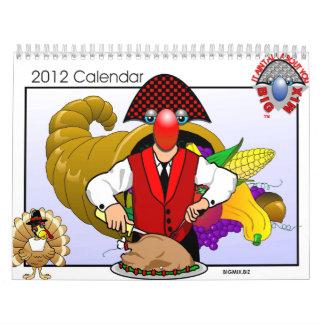 Big Mix 2012 Calendar