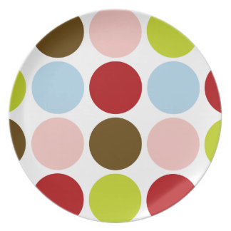 Big Mod Dots custom dinnerware - Plate