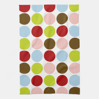 Big Mod Dots Designer Kitchen Towel