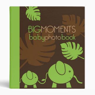 Big Moments Baby Photo Book Binder - Elephants