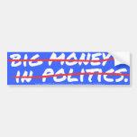 Big Money In (out) Sticker Bumper Sticker