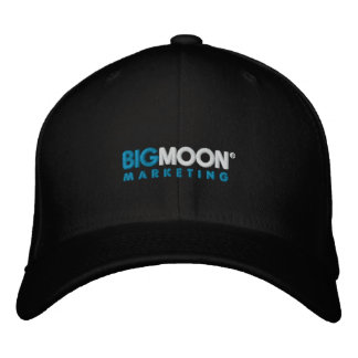 Big Moon Marketing logo baseball cap