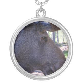 Big Moose Head Necklace