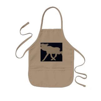 Big moose kids apron