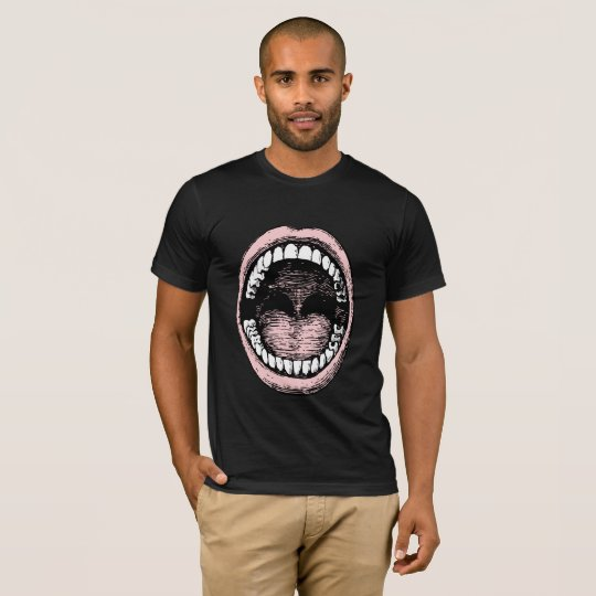 Big Mouth Dark Mens T- Shirt