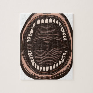 Big Mouth Jigsaw Puzzle
