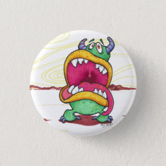 Big Mouth Monster button
