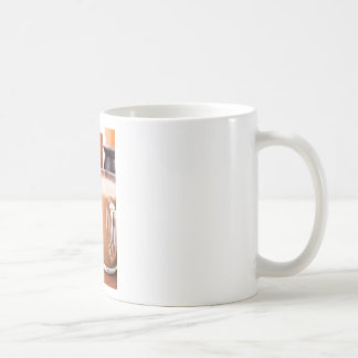 Big mug of hot cocoa with foam