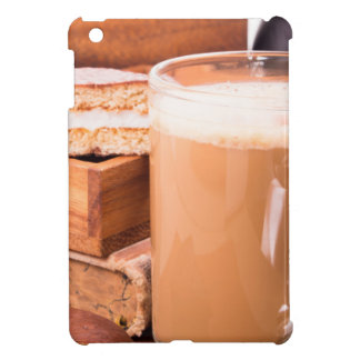 Big mug of hot cocoa with foam iPad mini case
