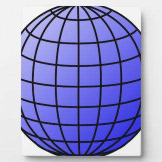Big Network Globe Plaque